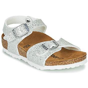 Shoes Girl Sandals Birkenstock RIO PLAIN White