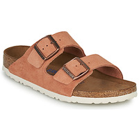 Shoes Women Mules Birkenstock ARIZONA SFB LEATHER Rust