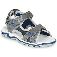 Shoes Boy Sandals André PIETRO Grey