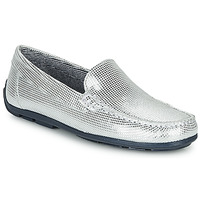 Shoes Girl Loafers André MANU Silver