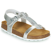 Shoes Girl Sandals André SYLVIE Silver