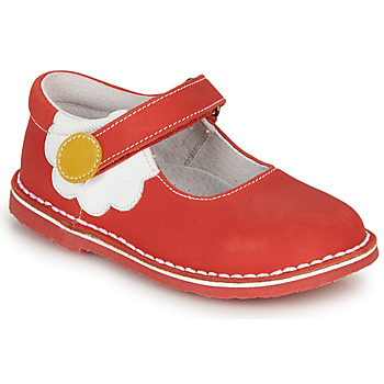 Shoes Girl Ballerinas André PAQUERETTE Red