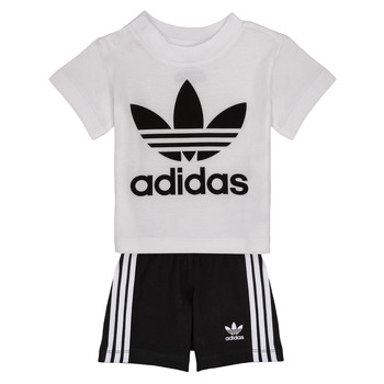 material Children Sets & Outfits adidas Originals CAROLINE White / Black