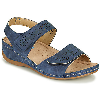 Shoes Women Sandals Damart MILANA Marine
