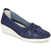 Shoes Women Ballerinas Damart MILANI Marine