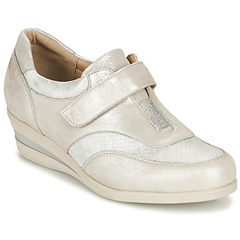 Shoes Women Derby shoes Damart MEYLI Silver