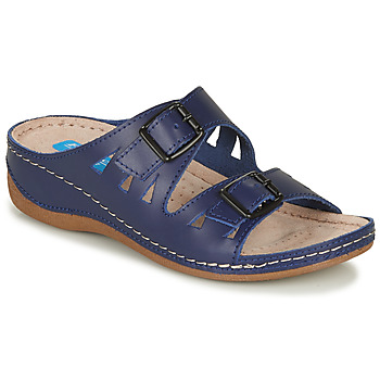 Shoes Women Mules Damart BREZIA Marine