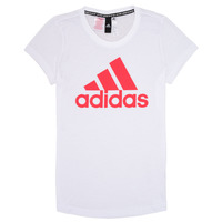 material Girl short-sleeved t-shirts adidas Performance ELIOTE White