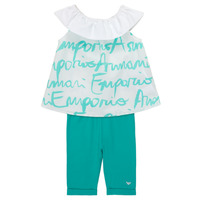 material Girl Sets & Outfits Emporio Armani Alex White / Blue