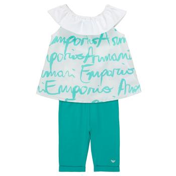 material Girl Sets & Outfits Emporio Armani Alex White / Blue