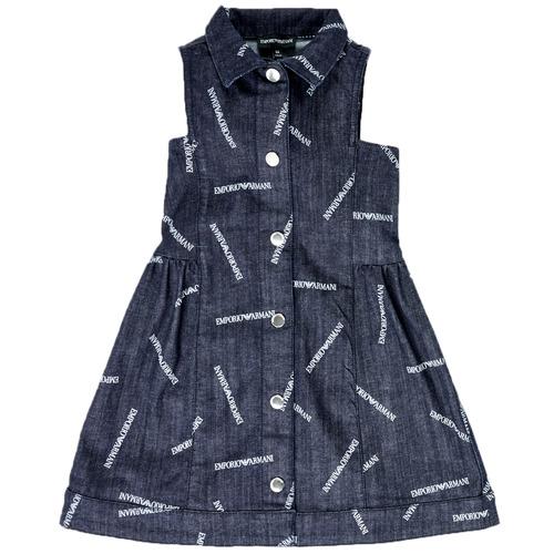 material Girl Short Dresses Emporio Armani Andy Blue