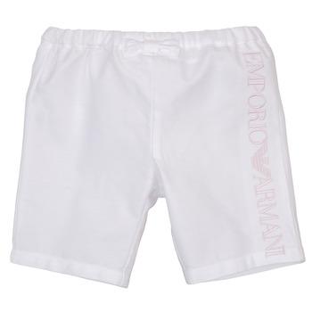 material Girl Shorts / Bermudas Emporio Armani Aniss White