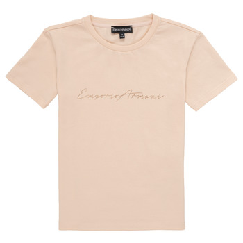 material Girl short-sleeved t-shirts Emporio Armani Armel Pink