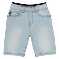 material Boy Shorts / Bermudas Emporio Armani Albert Blue