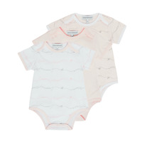 material Girl Sleepsuits Emporio Armani Alexander Pink