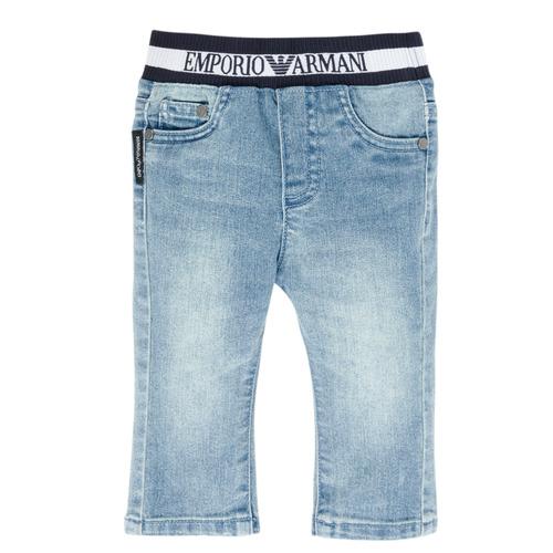 material Boy straight jeans Emporio Armani Ange Blue