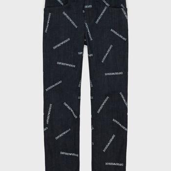 material Boy straight jeans Emporio Armani Adil Blue