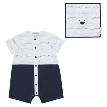 material Boy Jumpsuits / Dungarees Emporio Armani Edouard Marine