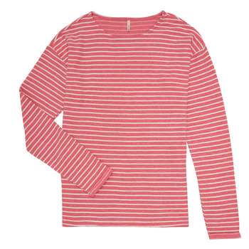 material Girl Long sleeved shirts Only KONNELLY White / Red