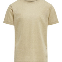 material Girl short-sleeved t-shirts Only KONSILVERY Gold