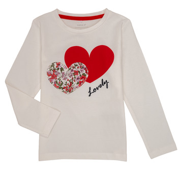 material Girl Long sleeved shirts Name it NMFBOSINE Red