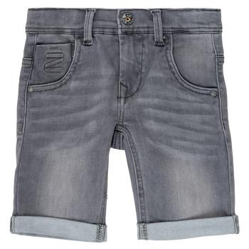 material Boy Shorts / Bermudas Name it NKMTHEO Grey