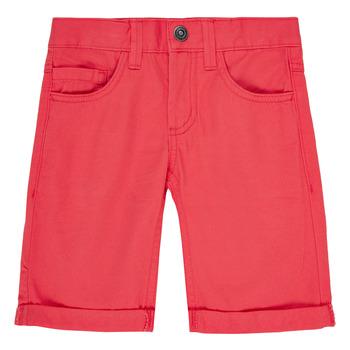 material Boy Shorts / Bermudas Name it NKMSOFUS TWIISAK Red