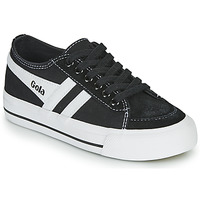 Shoes Children Low top trainers Gola QUOTA II Black / White