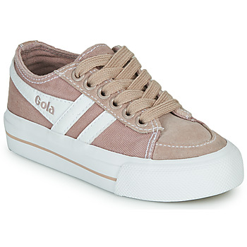 Shoes Children Low top trainers Gola QUOTA II Pink / White