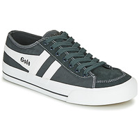 Shoes Low top trainers Gola QUOTA II Graphite / White