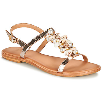 Shoes Women Sandals André PATTI Beige