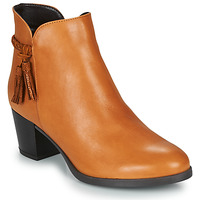 Shoes Women Mid boots André MARYLOU Camel