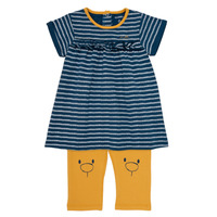 material Girl Short Dresses Noukie's AYOUB Blue / Yellow
