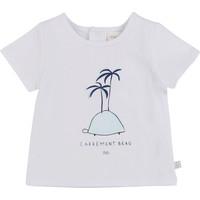 material Boy short-sleeved t-shirts Carrément Beau MARTINEZ White