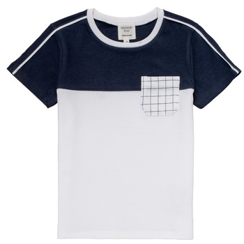 material Boy short-sleeved t-shirts Carrément Beau PIERRE White