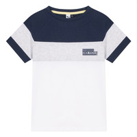 material Boy short-sleeved t-shirts 3 Pommes NORA White