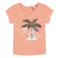 material Girl short-sleeved t-shirts 3 Pommes EMMA Orange