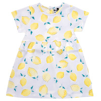 material Girl Short Dresses 3 Pommes ALEXIA White