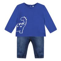 material Boy Sets & Outfits 3 Pommes GABRIEL Blue