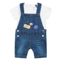 material Boy Sets & Outfits 3 Pommes PAUL Blue