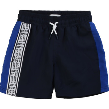 material Boy Shorts / Bermudas BOSS MOZEL Blue