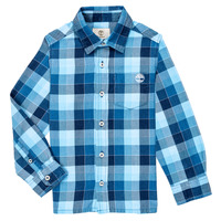 material Boy long-sleeved shirts Timberland  Blue