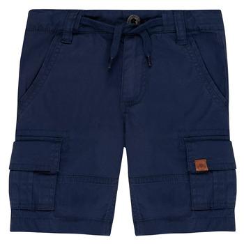 material Boy Shorts / Bermudas Timberland LUKA Blue