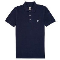 material Boy short-sleeved polo shirts Timberland GAUTHIER Blue