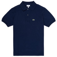material Boy short-sleeved polo shirts Lacoste VINNIE Marine