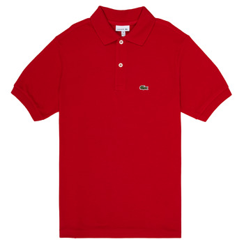 material Boy short-sleeved polo shirts Lacoste VINNIE Red