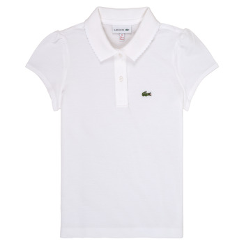 material Girl short-sleeved polo shirts Lacoste CAYDEN White