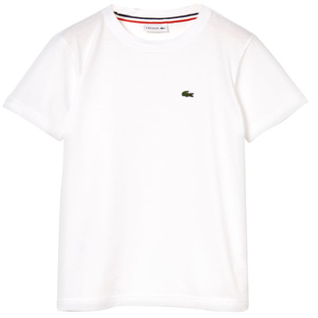 material Boy short-sleeved t-shirts Lacoste NAE White