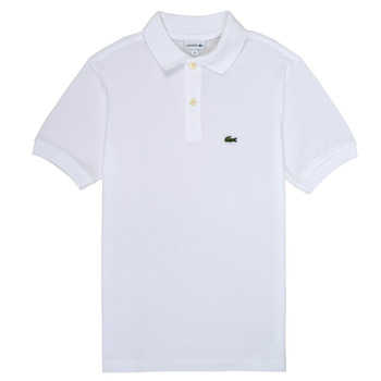 material Boy short-sleeved polo shirts Lacoste MOANA White