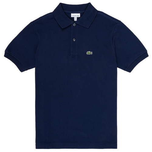 material Boy short-sleeved polo shirts Lacoste CYRINNE Marine